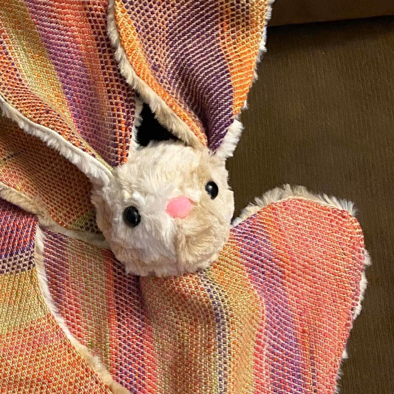 2Lambie Accoutrements - Looming Llama - Bunny Lovie Stripes