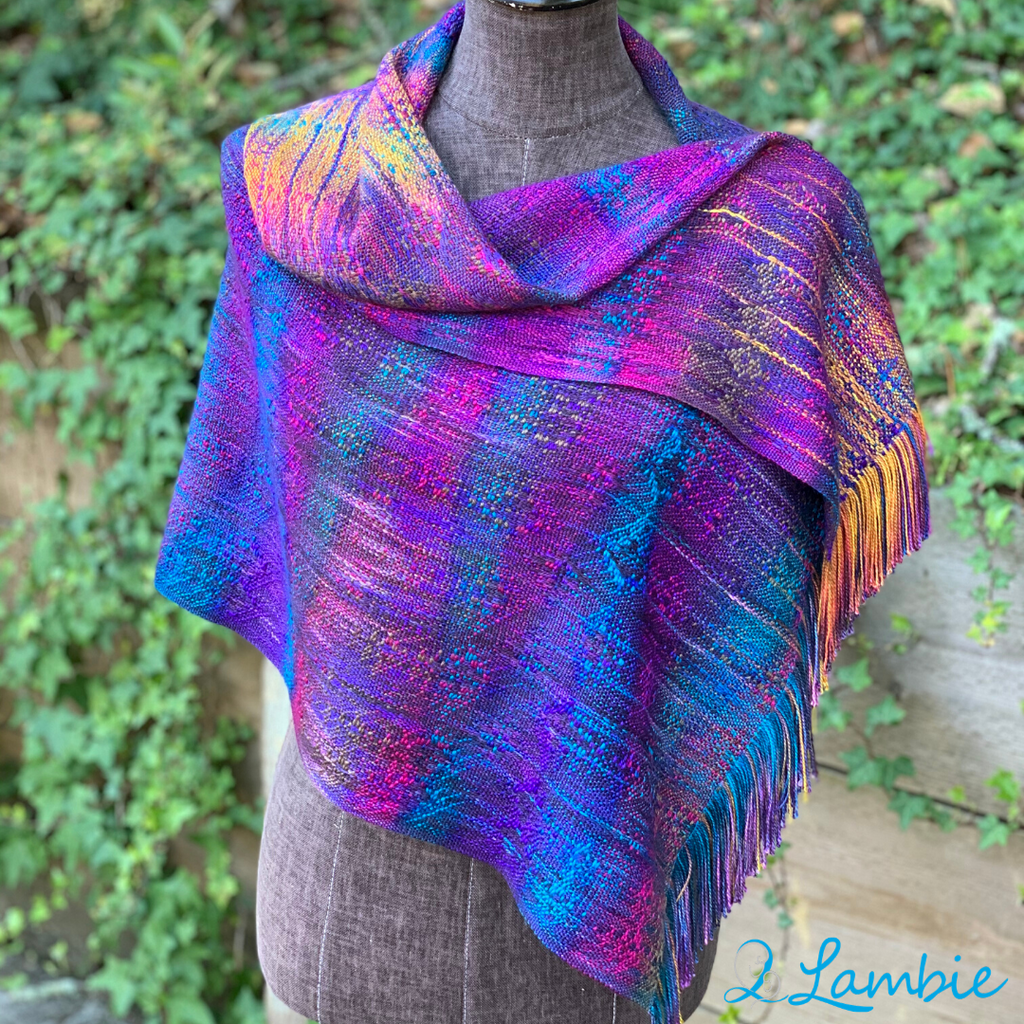 2Lambie Accoutrements - Aquarelle - Cowl or Shaw
