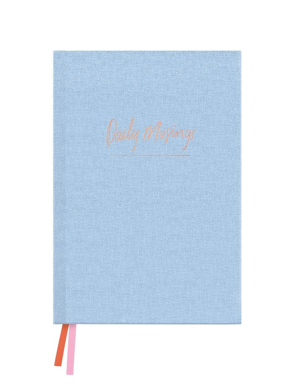 Chambray Musing Linen Notebook