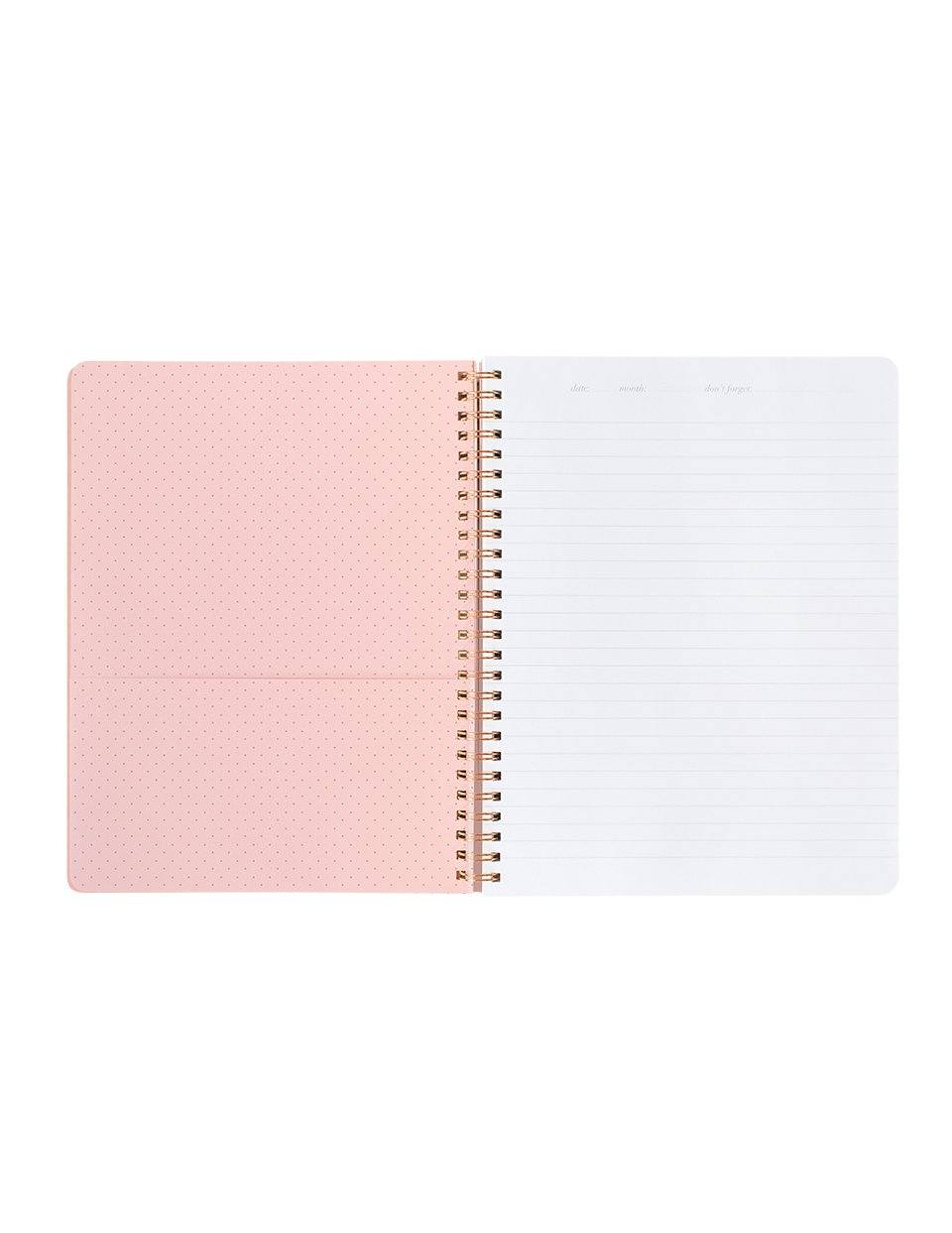 Impossible Polka Spiral Notebook