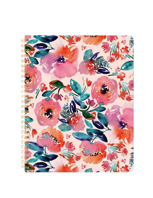 Summer Floral Spiral Notebook