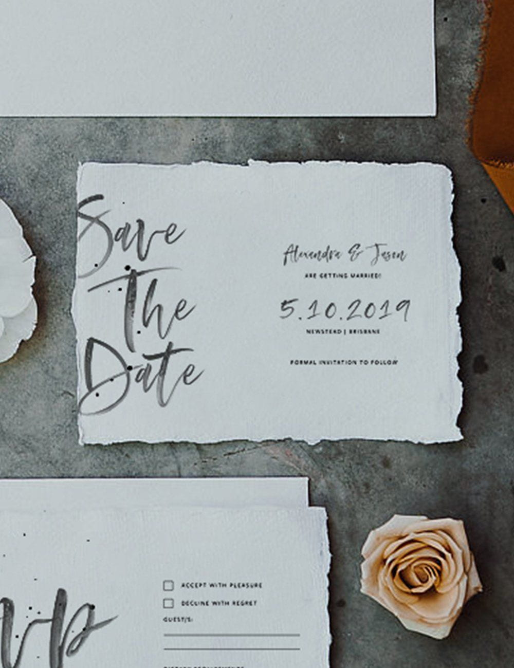Wedding Card - Save The Date