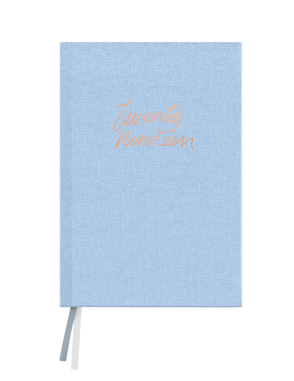Chambray Linen Floral Agenda 2019