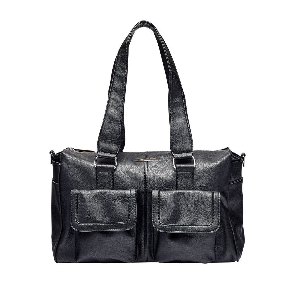 Denver Duffel Nappy Bag in Black