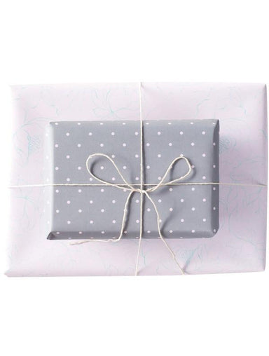 Double Sided Wrapping Paper 3PK: Dainty Musk | Blushing Confetti