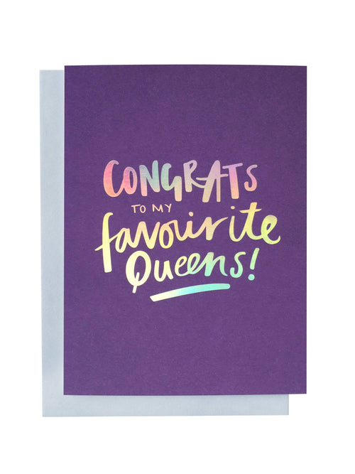 Favourite Queens Greeting Card