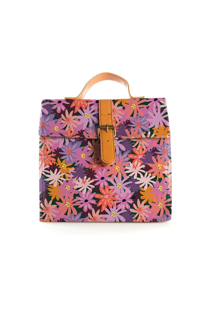 PRE-ORDER - Floral Forest Large Lunch Bag
