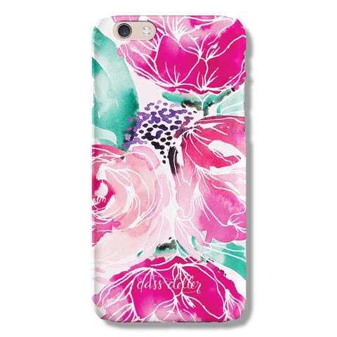 Watercolour Blooms Phone Case