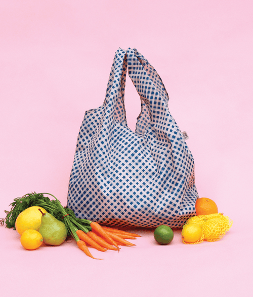Gingham Paint Reusable Eco Shopping Bag