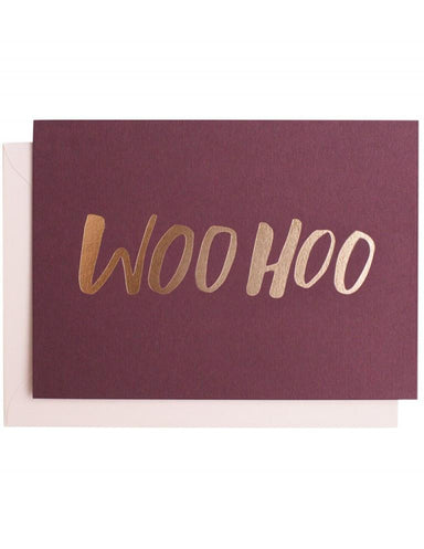 WooHoo Greeting Card | Blushing Confetti