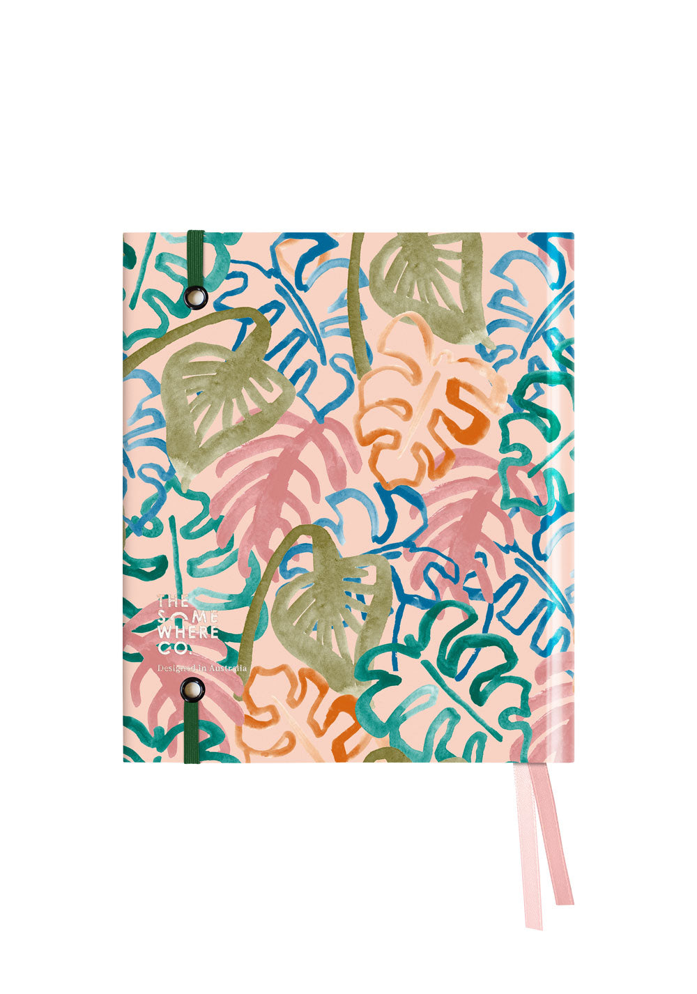 Wild Monstera 2021 Hardcover Agenda