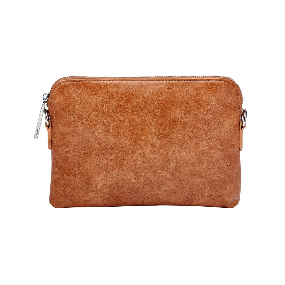 PRE-ORDER - Nappy Clutch in Tan