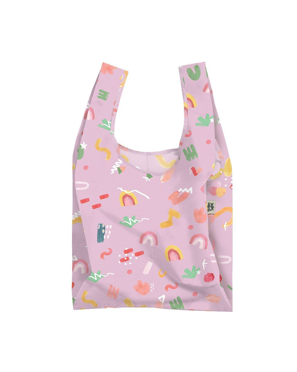 Lilac Pop Reusable Shopping Bag