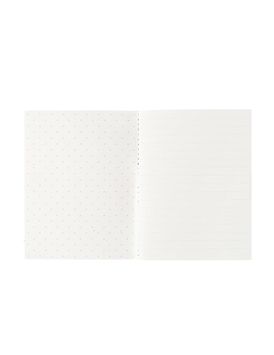 A6 Notebook Set 2PK: Pink Floral Polka Dot | Blushing Confetti