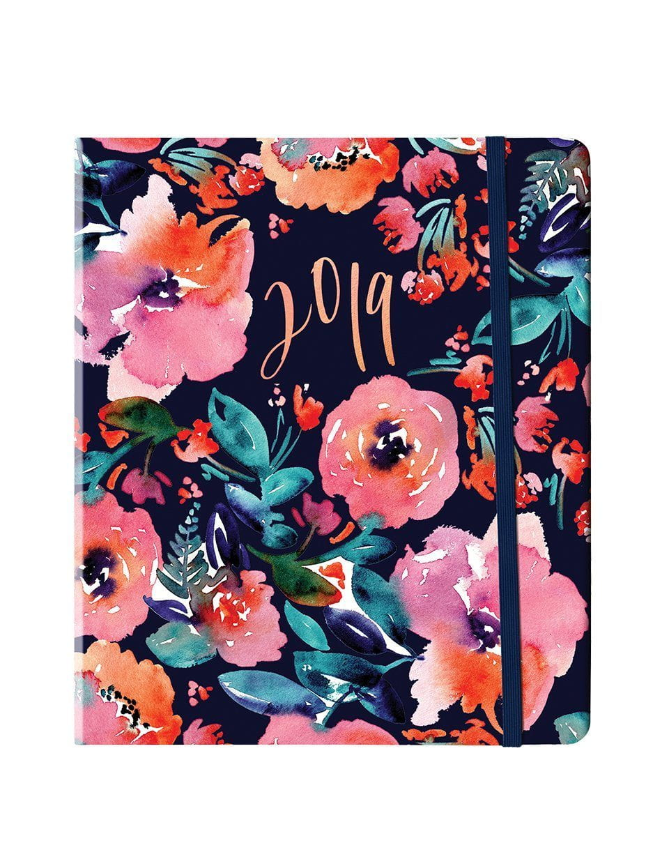 Party Florals Weekly Planner 2019