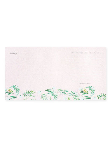 Daily Planner Notepad: Floral | Blushing Confetti