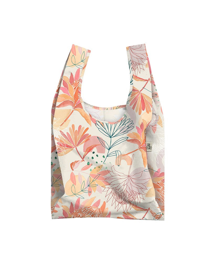 Brushed Protea Reusable Shopping Bag