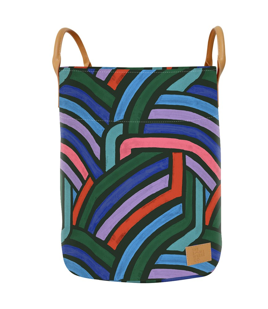 Road Less Travelled (Forest Green) Storage Bag