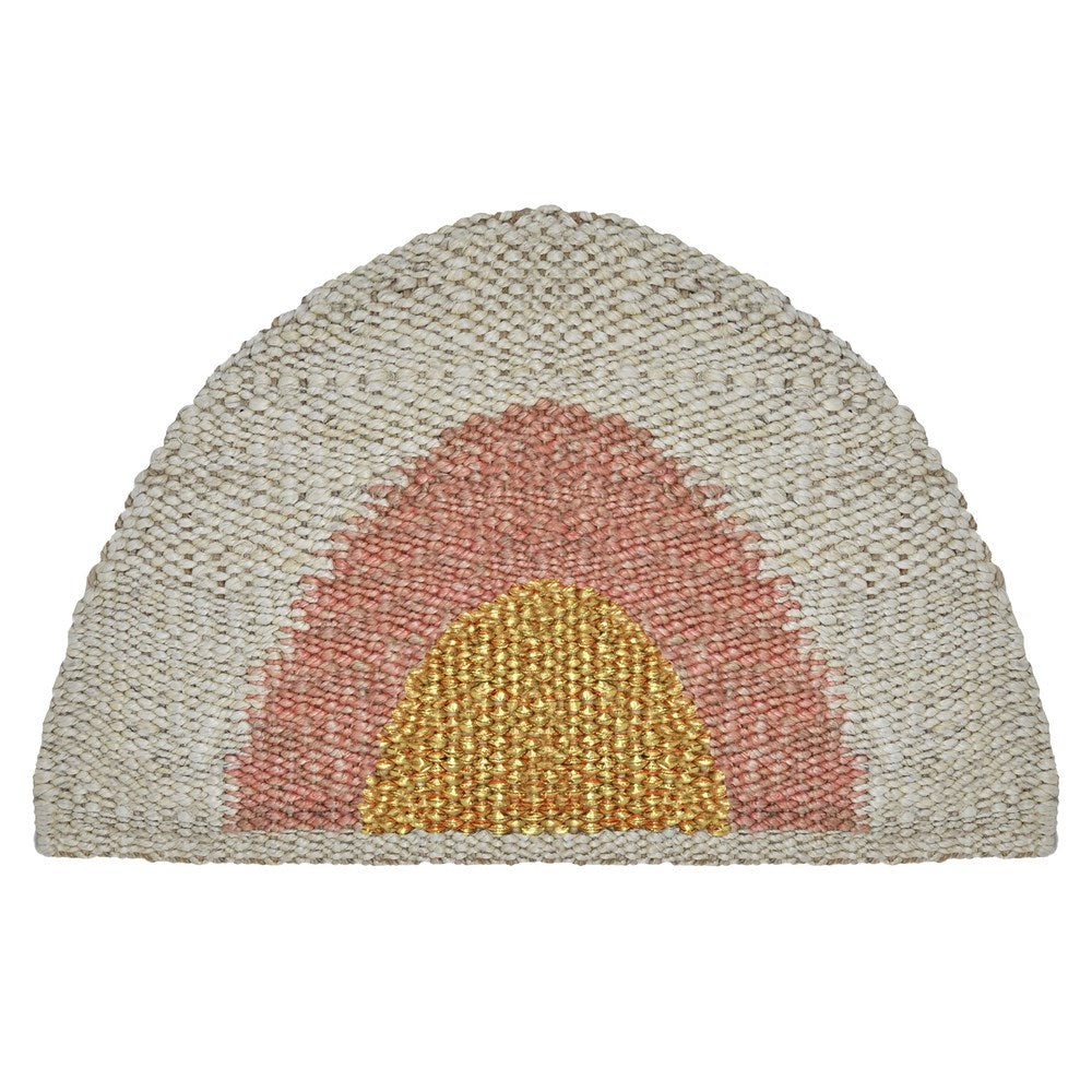 Sonny Doormat - Gold/Peach/Natural