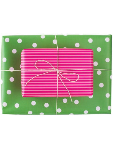 Double Sided Wrapping Paper 3PK: Sour Gumdrop | Blushing Confetti