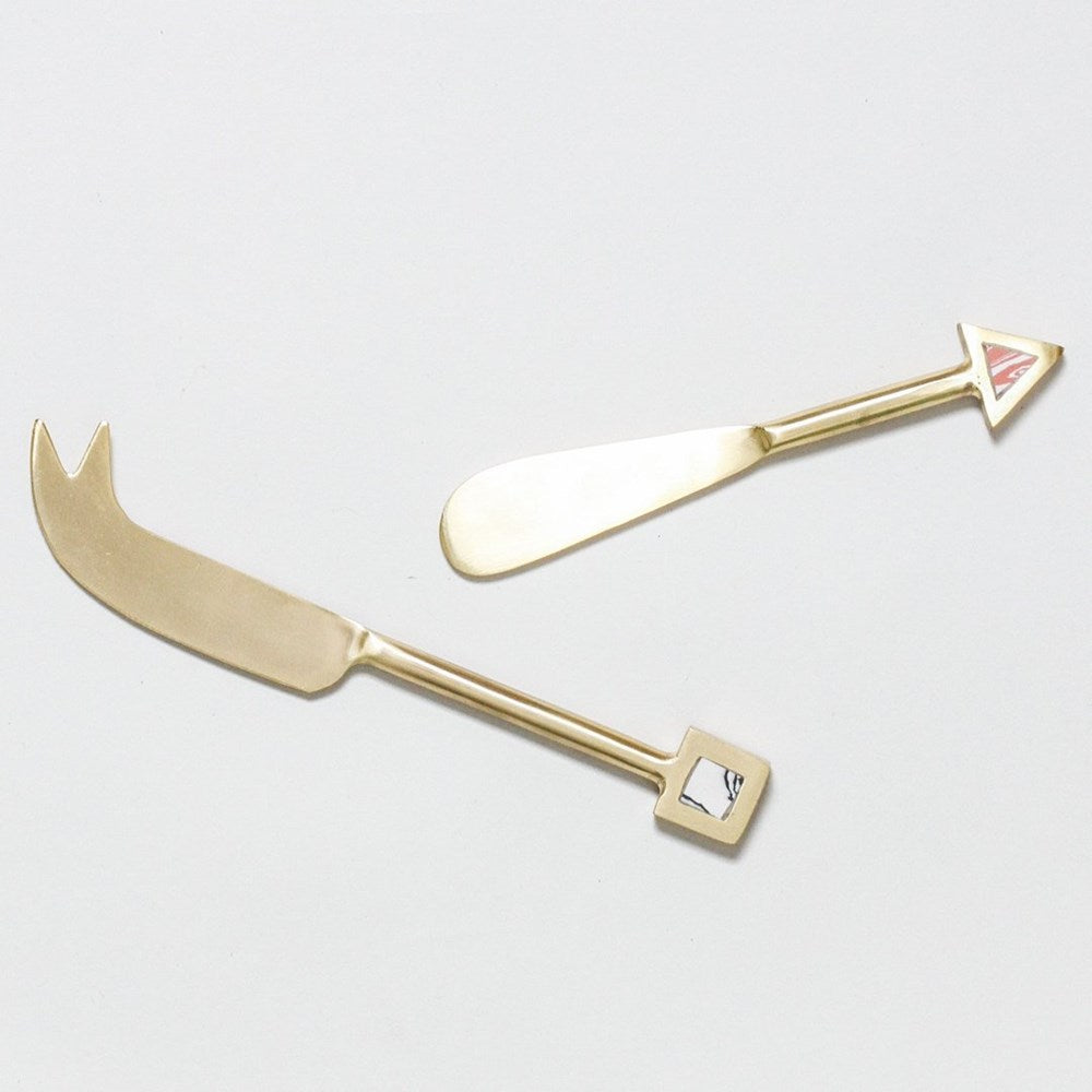 Venus Cheese & Spread Knife Set