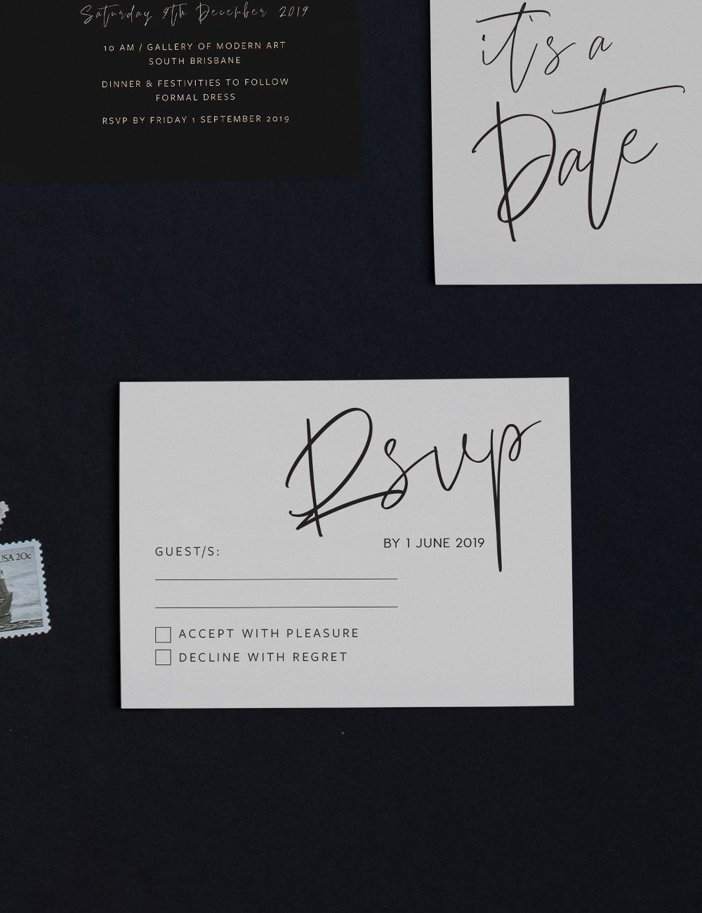 "Wedding RSVP ""You Had Me At Hello"""
