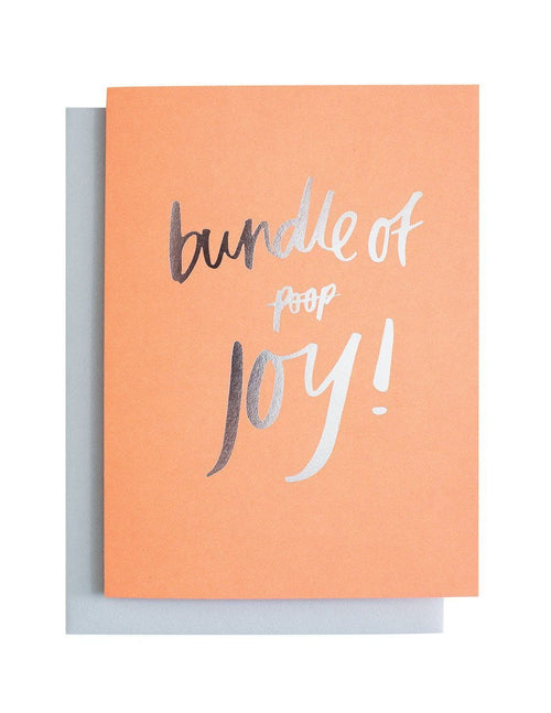 Bundle of Poop/Joy Greeting Card