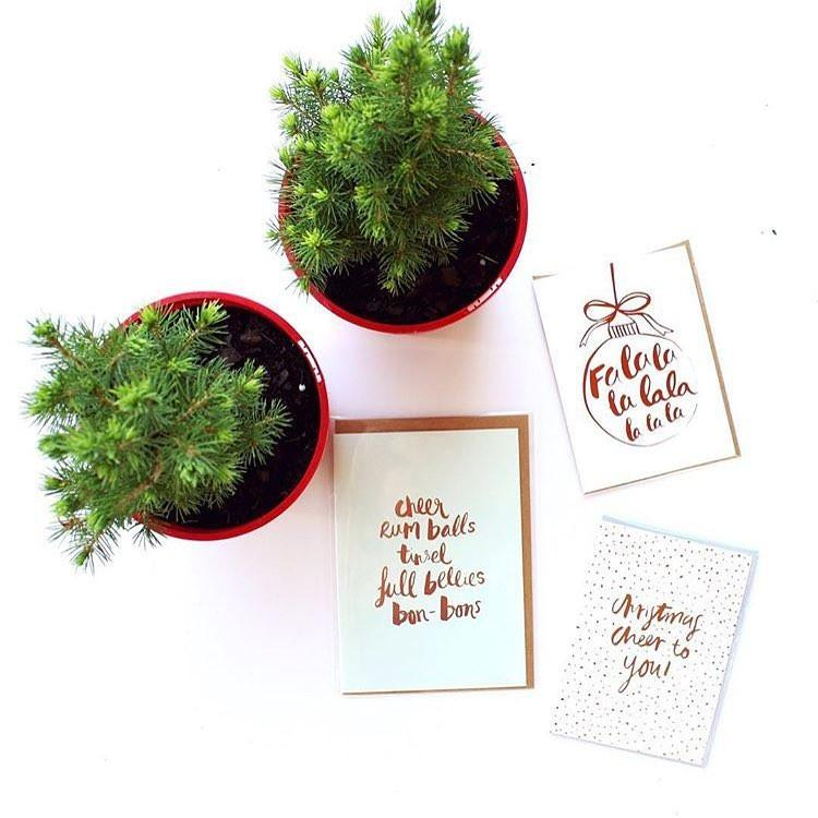 Christmas – Favourite Things Greeting Card | Blushing Confetti