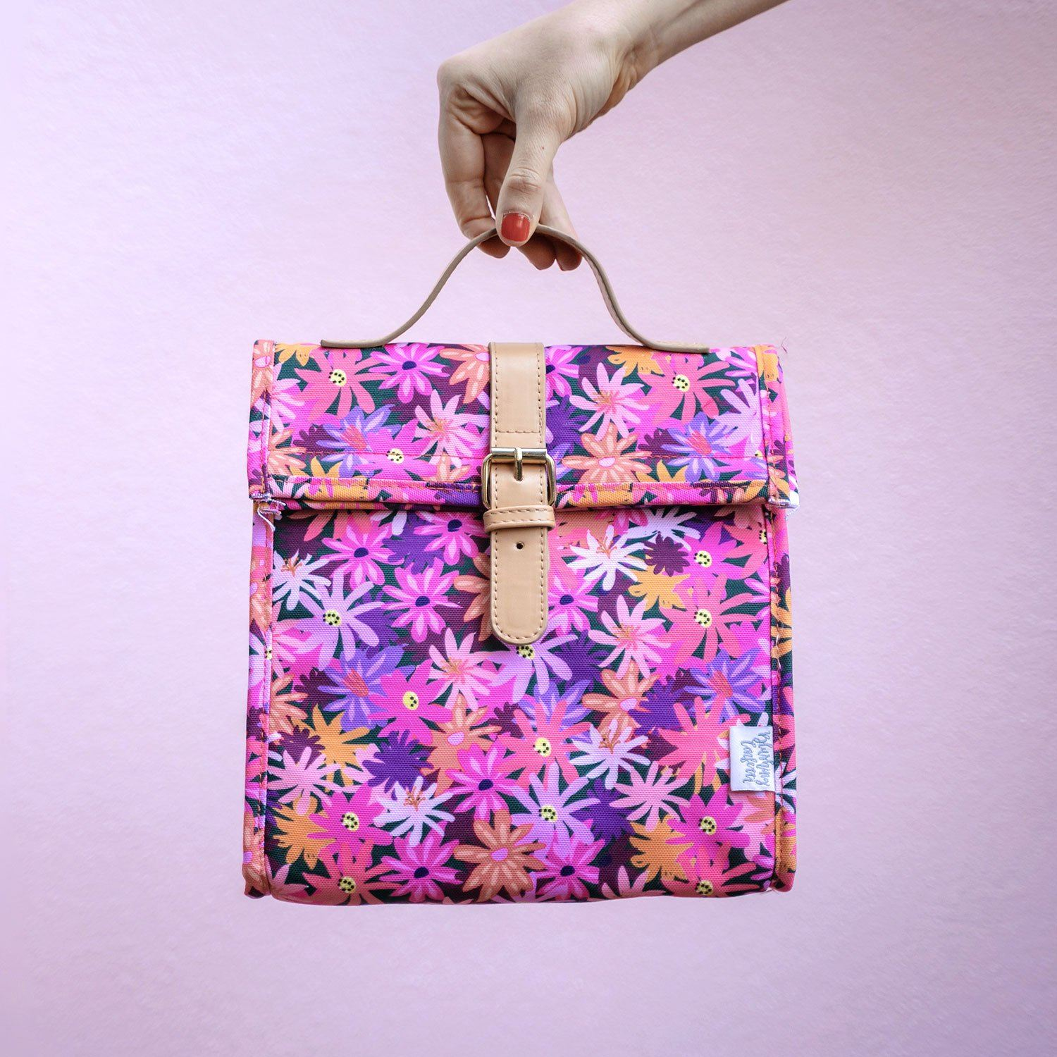 Floral Forest Lunch Satchel