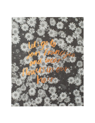 Lets go to San Francisco Print | Blushing Confetti