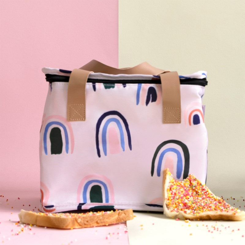 Ochre Rainbows Lunch Bag