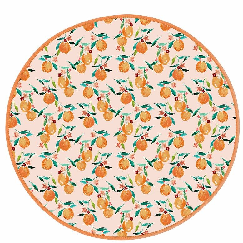 Orange Blossom Play Mat