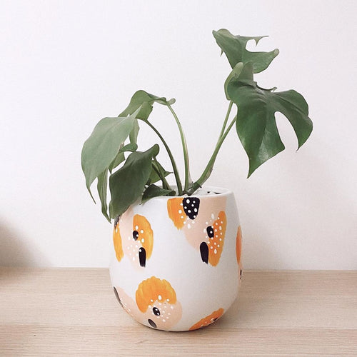 PRE-ORDER - Peaches & Cream Desk Planter