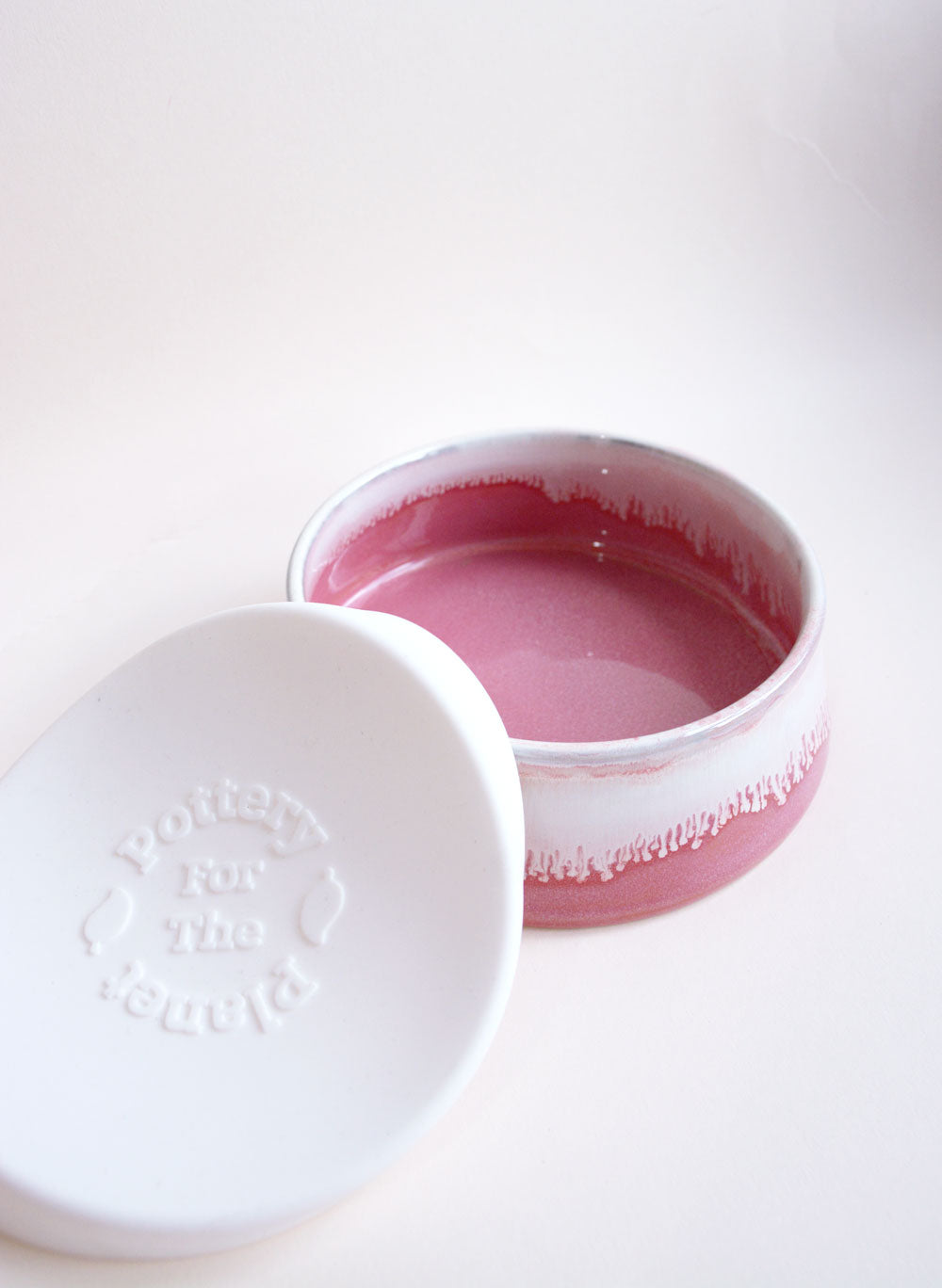 Raspberry Beret Ceramic Bowl