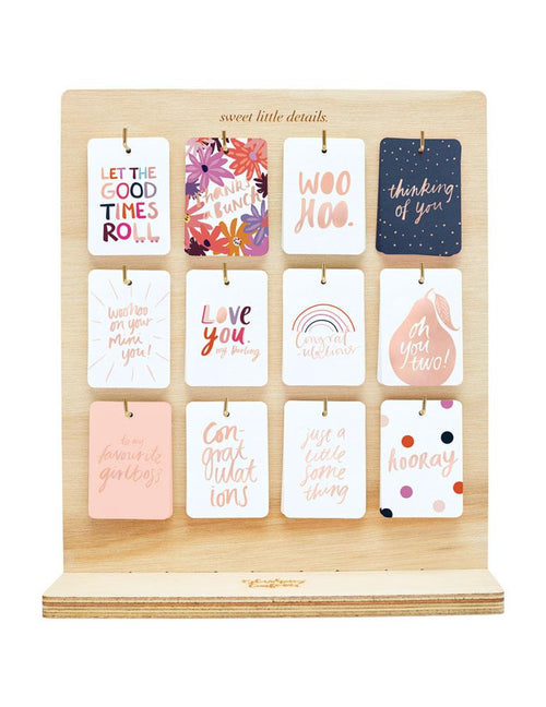 Hooray Colourpop Foiled Gift Tag