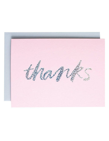 """Thanks"" Greeting Card"