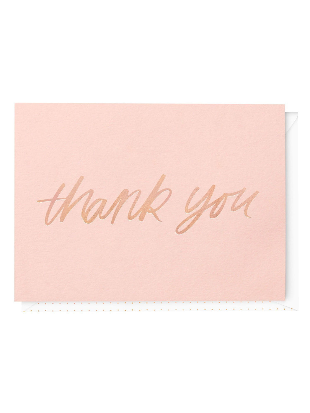 A Fancy Thank You Greeting Card