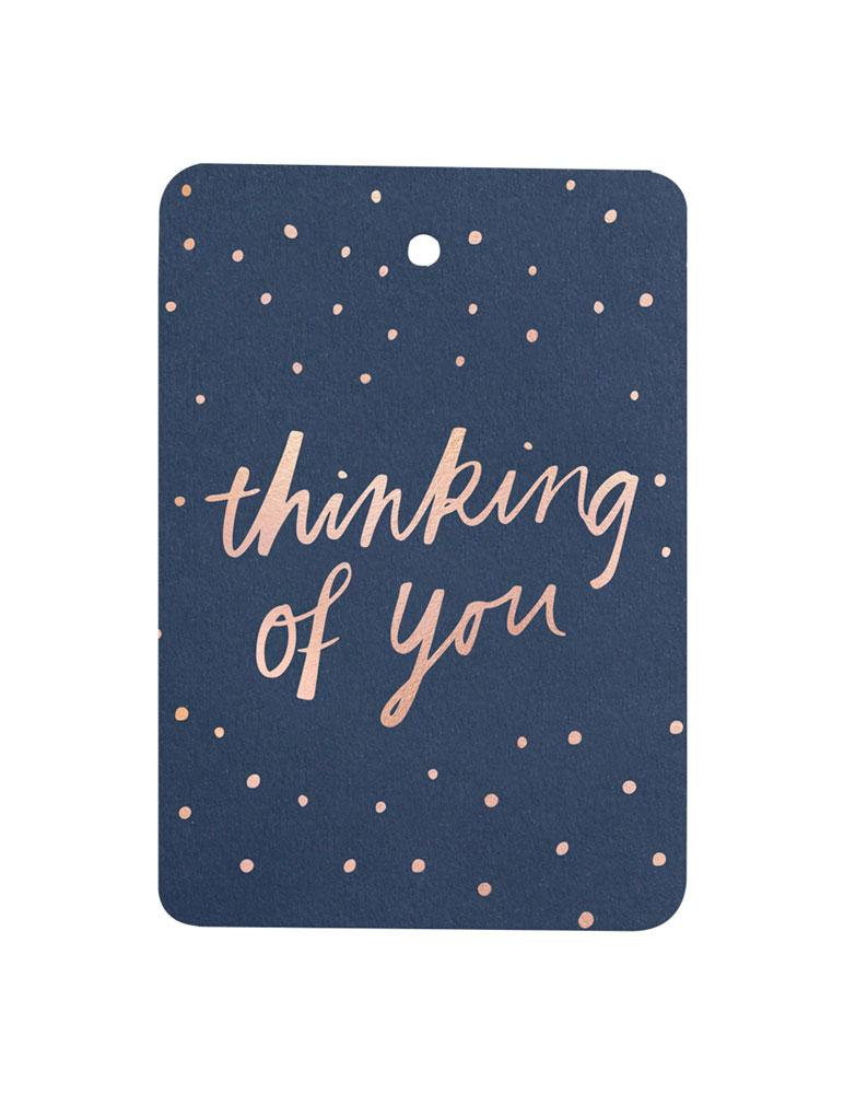 Thinking of You Foiled Gift Tag