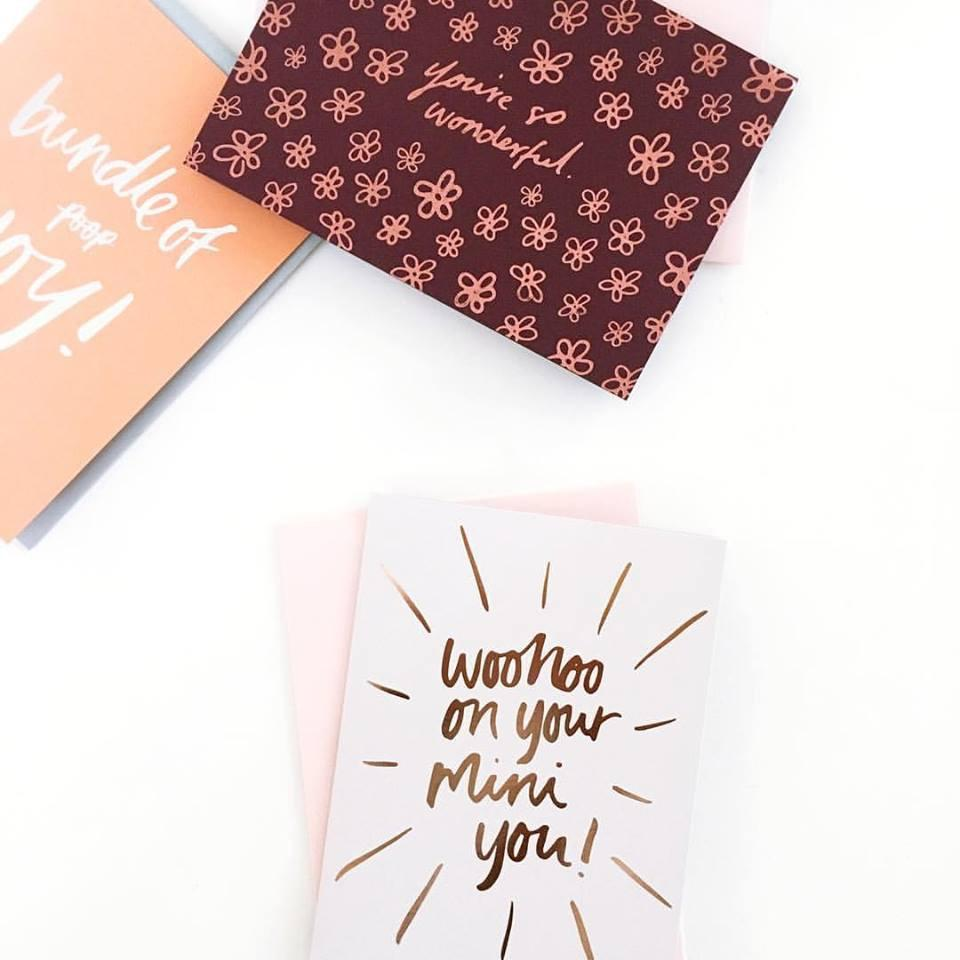 WooHoo on your mini You Greeting Card | Blushing Confetti