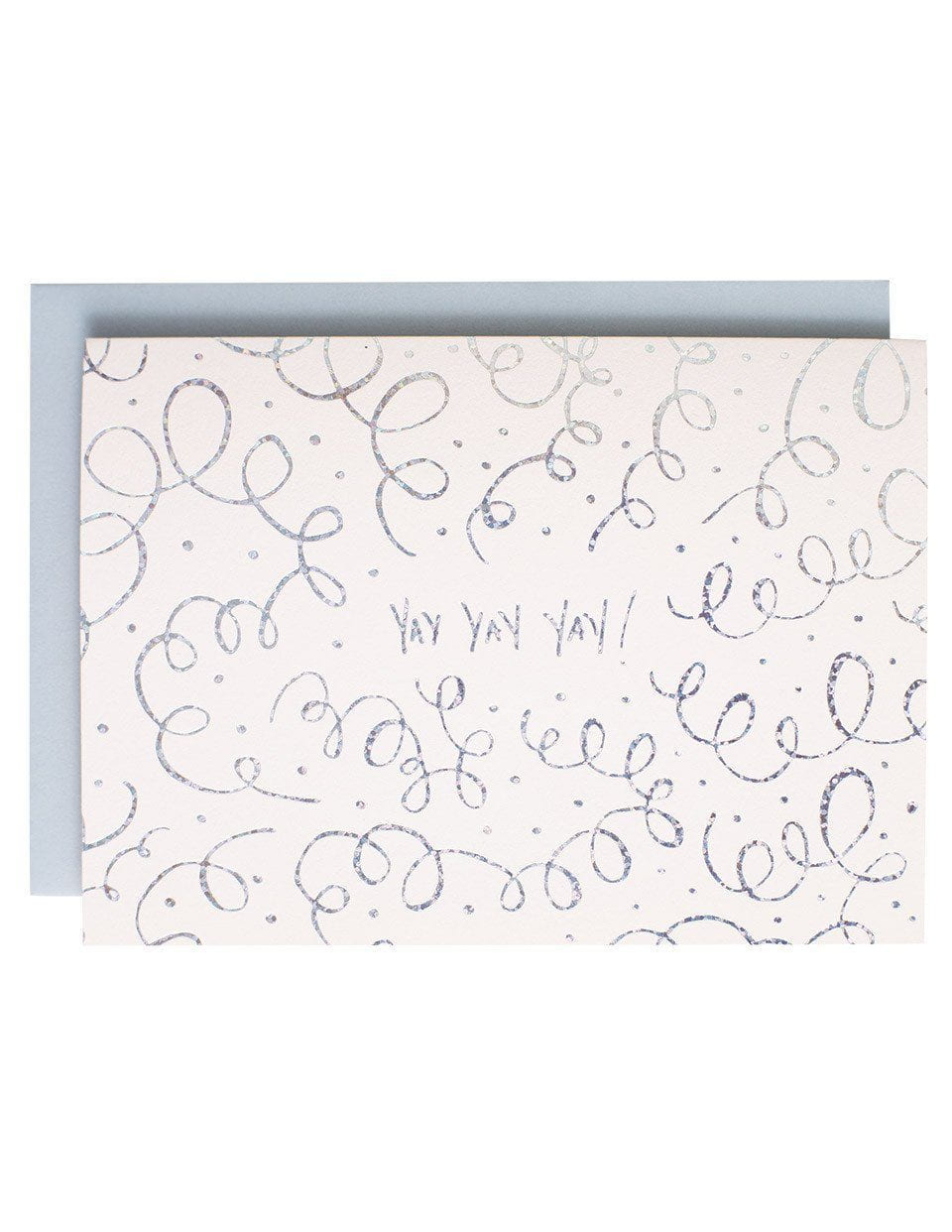 Yay yay yay Greeting Card | Blushing Confetti