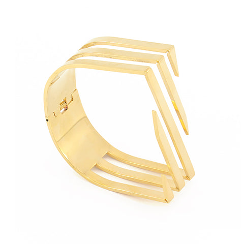 Open Jaws Bangle from Anartxy - Zarabelle