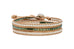 Havana Triple Wrap Leather Bracelet from Boho Betty - Zarabelle