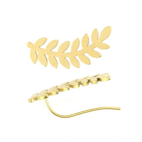 Fern Shaped Earcuffs from Anartxy - Zarabelle