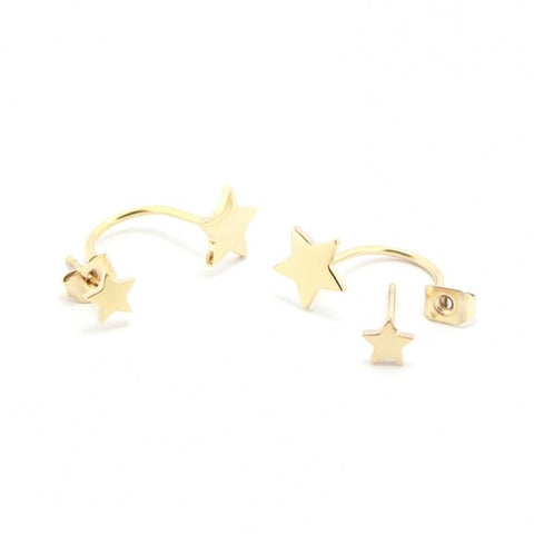 Double Star Earrings from Anartxy - Zarabelle