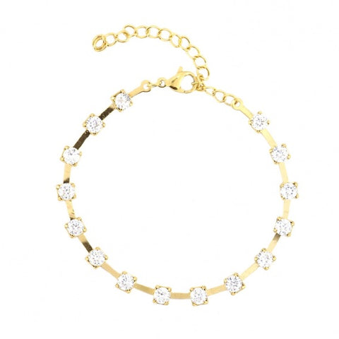 Diamante Chain Bracelet from Anartxy - Zarabelle
