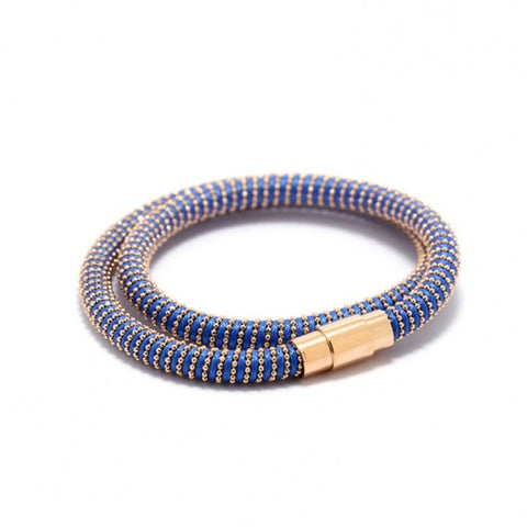 Coloured Bracelet with Magnetic Clasp