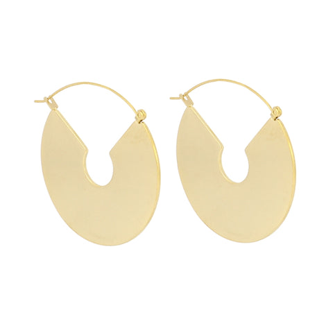 Solid Circular Earrings from Anartxy - Zarabelle