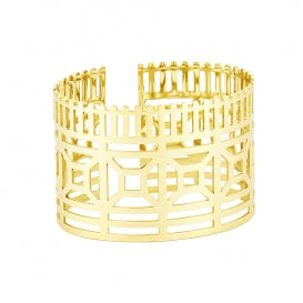 Jagged Edge Cuff Bangle from Anartxy - Zarabelle