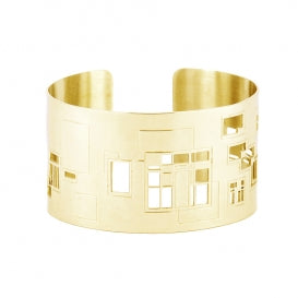 Squares and Rectangles Cuff Bangle from Anartxy - Zarabelle