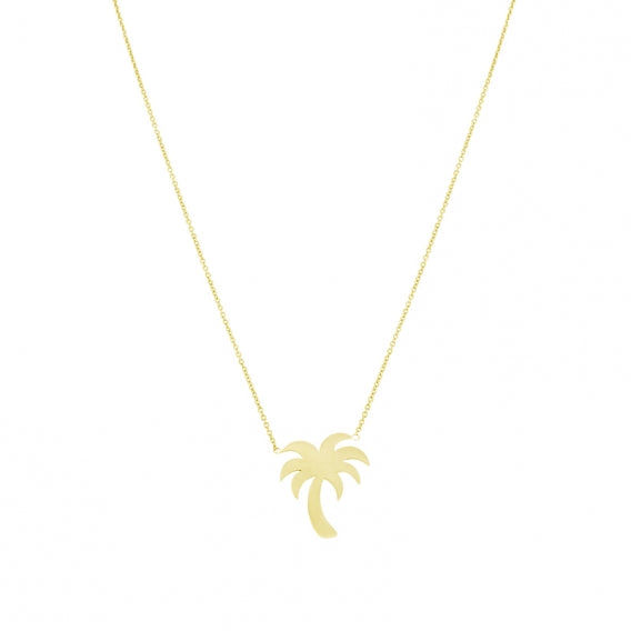 Palm Tree Necklace from Anartxy - Zarabelle